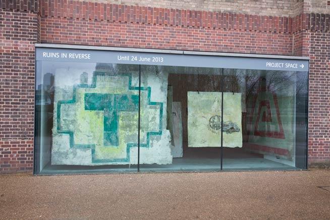 PINTAS (RUINS IN REVERSE)Vista de instalaciónTATE Modern, London, UK2013