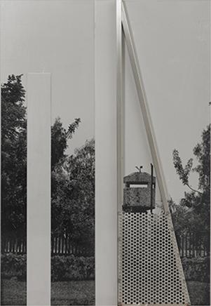 PAISAJE 6Serigrafía sobre acero inoxidable160 x 120 cm2016