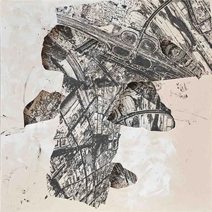 ARQUEOLOGÍA ITinta y técnica mixta sobre tela210 x 210 cm2017