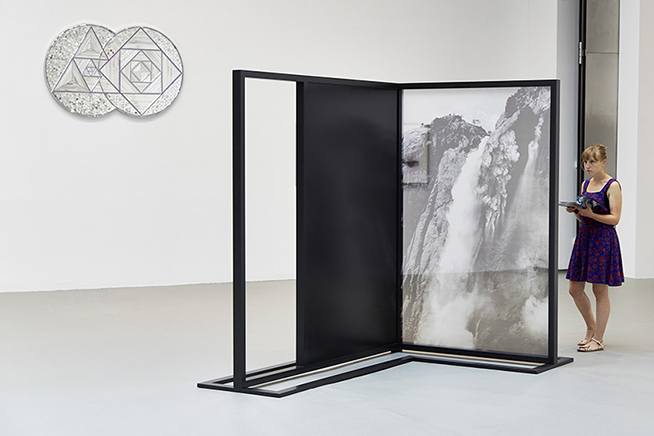 FADING FIELDS N.4, FUTURE LIGHT ESCAPING TRANSPARENCYVista de instalación2015MAK Museum of Applied Art, Vienna Biennale