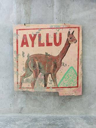 SIN TITULOExtracción de muro195 x 190 cm2018