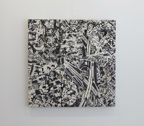 ARQUEOLOGÍA IVSerigrafía mixta sobre tela150 x 150 cm2015