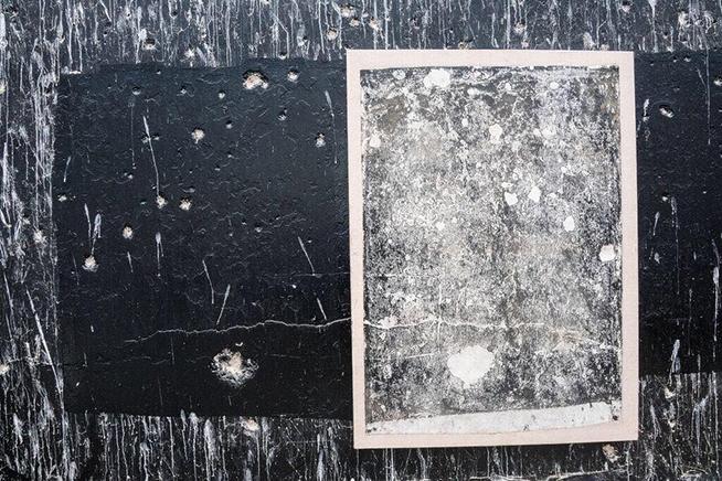 STELLAR 7Frottage y tinta de grabado sobre papel japonés153 x 112 cm2017