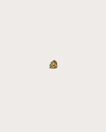 LLEVANDO UNA PEPITA DE ORO A LA VELOCIDAD DEL SONIDO N.024-karat pepita de oro de California9 gramos, 12 x 15 x 8 mm2015