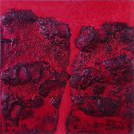 INFINITO AGGIO DE LA COSTA DEL PERÚCemento y técnica mixta sobre tela65 x 65 cm1961